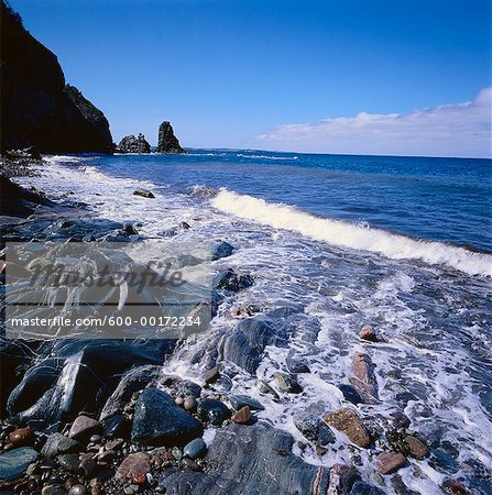 Shoreline, Cape Breton, Nova Scotia, Canada