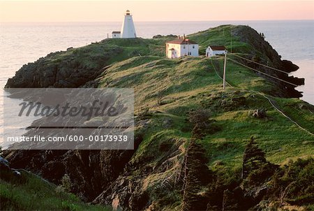 Swallowtail Lighthouse, Grand Manan Island, New Brunswick, Canada Stock Photo - Premium Royalty-Free, Image code: 600-00173938