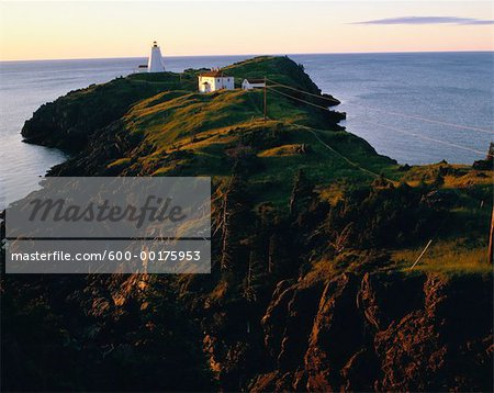 Swallowtail Lighthouse, Grand Manan Island, New Brunswick, Canada Stock Photo - Premium Royalty-Free, Image code: 600-00175953