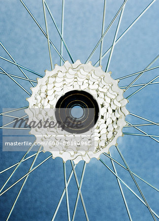 Close-Up of Bicycle Wheel Stock Photo - Premium Royalty-Free, Image code: 600-00190965