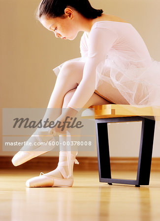 Ballerina Stock Photo - Premium Royalty-Free, Image code: 600-00378008