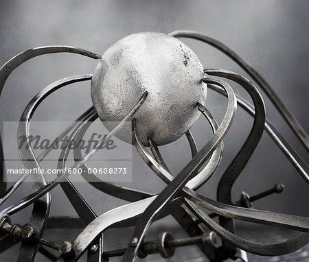 Callipers and Sphere Stock Photo - Premium Royalty-Free, Image code: 600-00608273