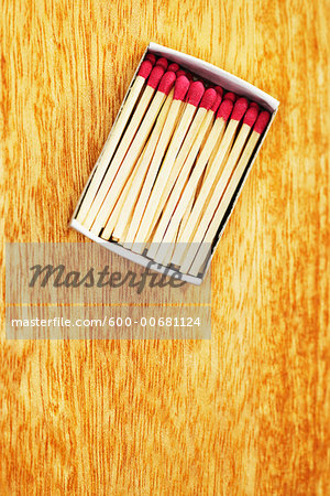 Box of Matches Stock Photo - Premium Royalty-Free, Image code: 600-00681124
