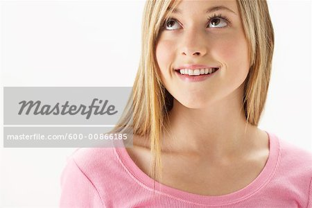 Portrait of Girl Stock Photo - Premium Royalty-Free, Image code: 600-00866185