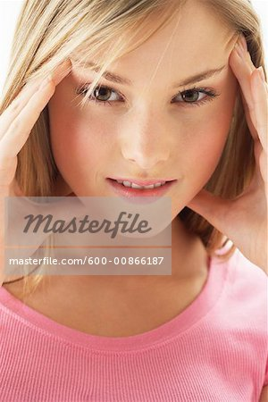 Portrait of Girl Stock Photo - Premium Royalty-Free, Image code: 600-00866187