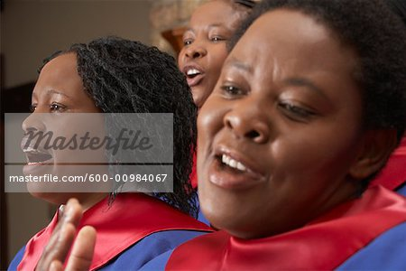 Gospel Choir Stock Photo - Premium Royalty-Free, Image code: 600-00984067