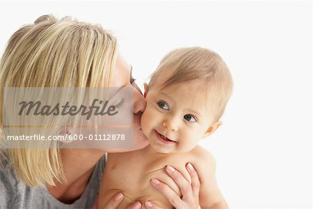 Portrait of Mother and Baby Stock Photo - Premium Royalty-Free, Image code: 600-01112878