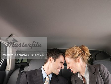 Man and Woman in Car Stock Photo - Premium Royalty-Free, Image code: 600-01173942