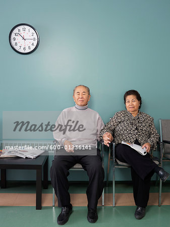 Couple in Waiting Room