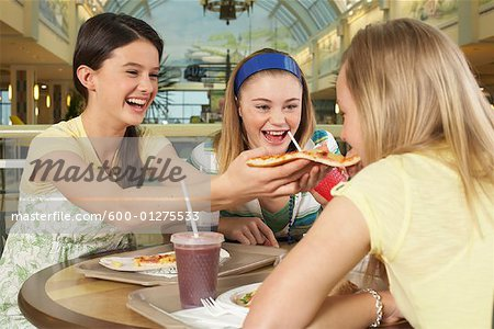 Teenagers at Mall Stock Photo - Premium Royalty-Free, Image code: 600-01275533