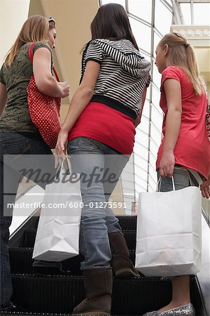 Teenagers Shopping Stock Photo - Premium Royalty-Free, Image code: 600-01275591