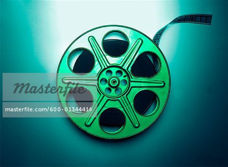 Close-Up of Film Reel Stock Photo - Premium Royalty-Free, Image code: 600-01344414
