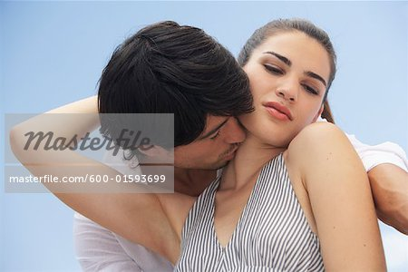 Couple Outdoors Stock Photo - Premium Royalty-Free, Image code: 600-01593699