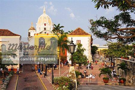 Plaza Santa Teresa, Cartagena, Colombia