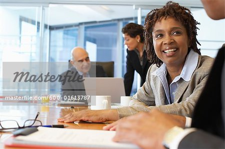 Portrait of Business People Stock Photo - Premium Royalty-Free, Image code: 600-01613787