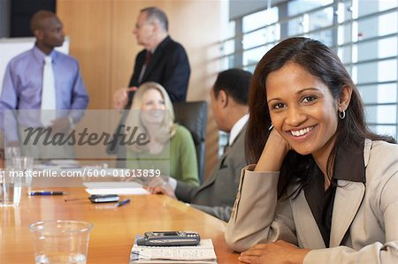 Business People in Meeting Stock Photo - Premium Royalty-Free, Image code: 600-01613839