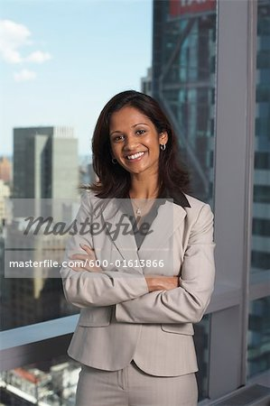 Portrait of Businesswoman Stock Photo - Premium Royalty-Free, Image code: 600-01613866