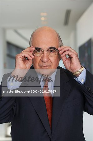 Portrait of Businessman Stock Photo - Premium Royalty-Free, Image code: 600-01613967
