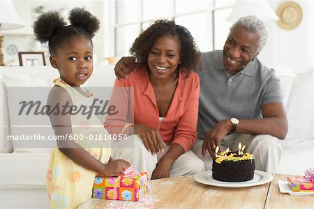 Birthday Party Stock Photo - Premium Royalty-Free, Image code: 600-01614054