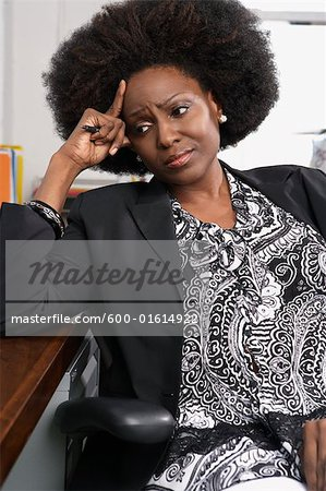 Portrait of businesswoman Stock Photo - Premium Royalty-Free, Image code: 600-01614922