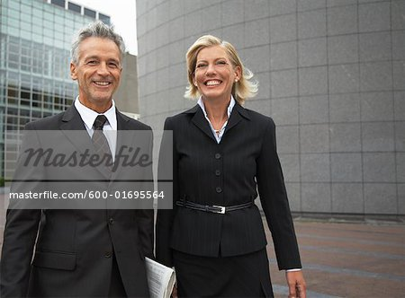 Portrait of Business People, Amsterdam, Netherlands Stock Photo - Premium Royalty-Free, Image code: 600-01695564