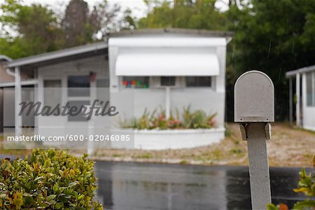 Trailer Park Stock Photo - Premium Royalty-Free, Image code: 600-02046085