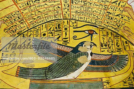 Ptah-Sokar-Osiris, Tomb of Pashedu, Deir Al-Medina, west Bank, Luxor, Egypt Stock Photo - Premium Royalty-Free, Image code: 600-02046685