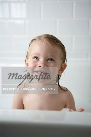 Girl in Bathtub