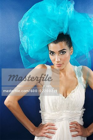 Portrait of Woman Stock Photo - Premium Royalty-Free, Image code: 600-02200219
