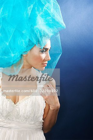 Portrait of Woman Stock Photo - Premium Royalty-Free, Image code: 600-02200222