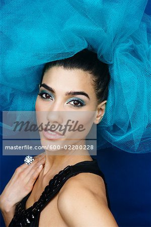 Portrait of Woman Stock Photo - Premium Royalty-Free, Image code: 600-02200228