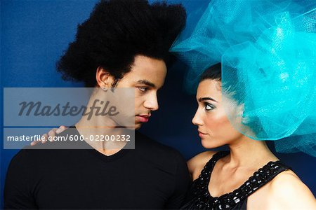 Portrait of Couple Stock Photo - Premium Royalty-Free, Image code: 600-02200232