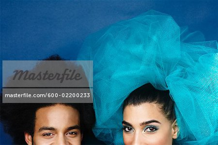Portrait of Couple Stock Photo - Premium Royalty-Free, Image code: 600-02200233