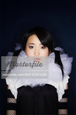 Portrait of Woman Stock Photo - Premium Royalty-Free, Image code: 600-02200274