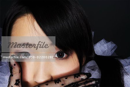 Portrait of Woman Stock Photo - Premium Royalty-Free, Image code: 600-02200282