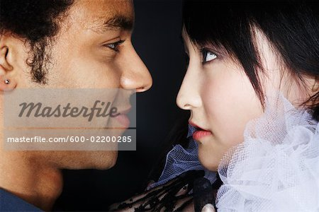 Portrait of Couple Stock Photo - Premium Royalty-Free, Image code: 600-02200285