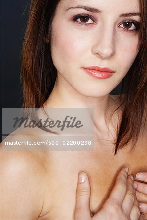 Portrait of Woman Stock Photo - Premium Royalty-Free, Image code: 600-02200298