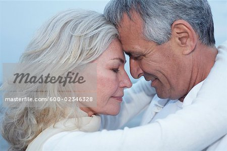 Close-Up of Couple Stock Photo - Premium Royalty-Free, Image code: 600-02346328