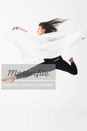 Portrait of Dancer Stock Photo - Premium Royalty-Free, Image code: 600-02346563