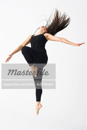 Portrait of Dancer Stock Photo - Premium Royalty-Free, Image code: 600-02346564