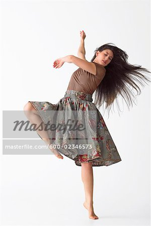 Portrait of Dancer Stock Photo - Premium Royalty-Free, Image code: 600-02346573