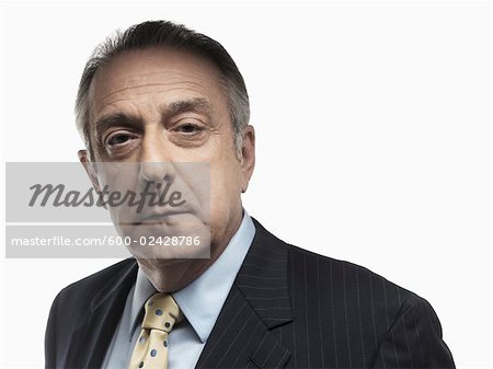 Portrait of Businessman Stock Photo - Premium Royalty-Free, Image code: 600-02428786
