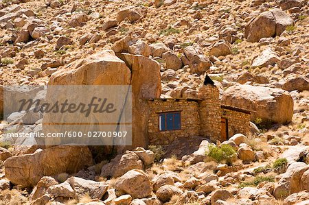 Stone House at Eagle's Nest Lodge, Klein-Aus Vista, Gondwana Sperrgebiet Rand Park, Namibia Stock Photo - Premium Royalty-Free, Image code: 600-02700907