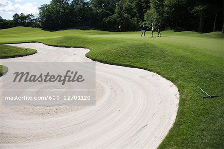 People on Golf Course, Burlington, Ontario, Canada Stock Photo - Premium Royalty-Free, Image code: 600-02701120
