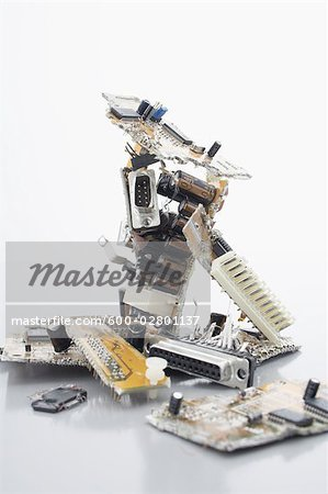 Close-Up of Computer Parts Stock Photo - Premium Royalty-Free, Image code: 600-02801137