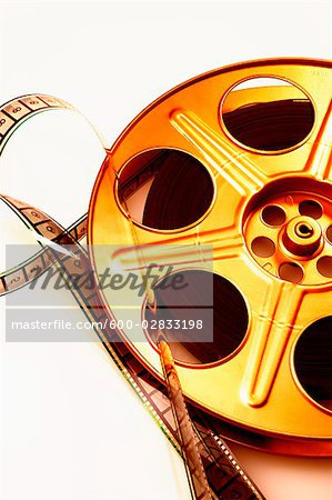 Film Reel Stock Photo - Premium Royalty-Free, Image code: 600-02833198