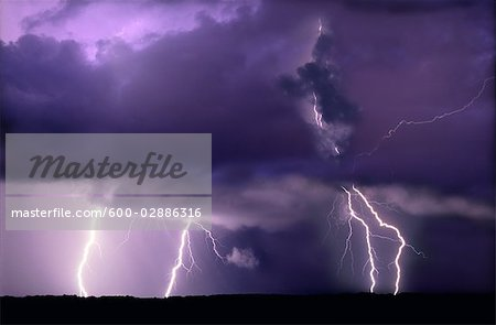 Lightning Stock Photo - Premium Royalty-Free, Image code: 600-02886316
