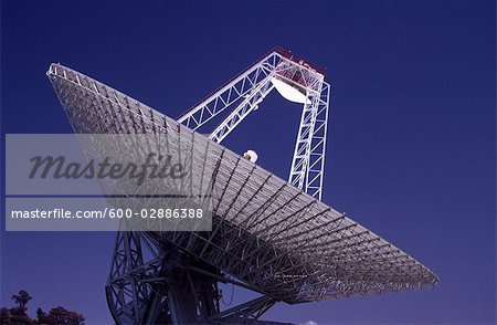 Satellite Receiving Dish Stock Photo - Premium Royalty-Free, Image code: 600-02886388
