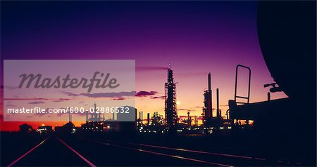 Oil Refinery, Victoria, Australia Stock Photo - Premium Royalty-Free, Image code: 600-02886532