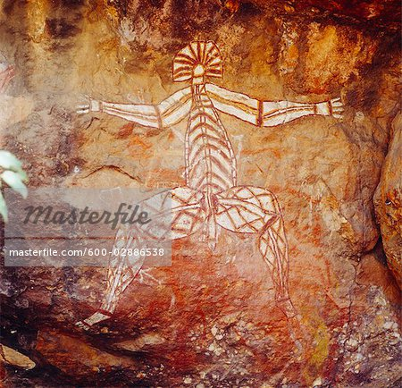 Aboriginal Rock Art, Australia Stock Photo - Premium Royalty-Free, Image code: 600-02886538